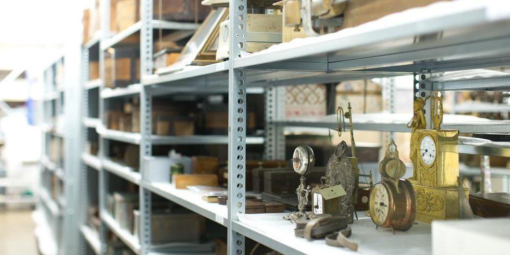 Bild aus dem Depot des Historischen Museums.